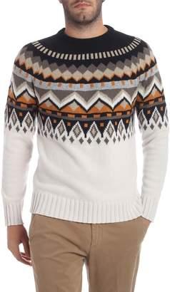 Paolo Pecora Intarsia Wool Sweater