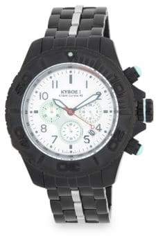 Stainless-Steel Bracelet Chronograph Watch