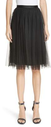 Needle & Thread Dotted Tulle Skirt