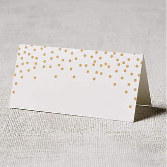 One Kings Lane Set of 24 Confetti Place Cards