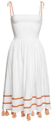 Pitusa Bella Embroidered Cotton Dress