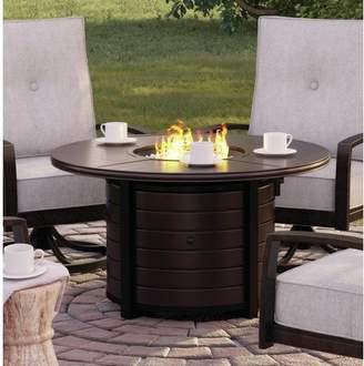 Bronx Ivy Luedtke Aluminum Propane Fire Pit Table