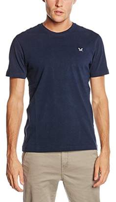 Crew Clothing Men's Crew Classic Short Sleeve T-Shirt, Blue (Navy)