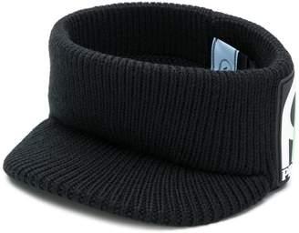 Prada ribbed knit visor