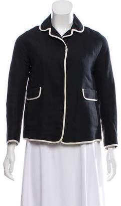 Max Mara 'S Pique Snap-Up Jacket