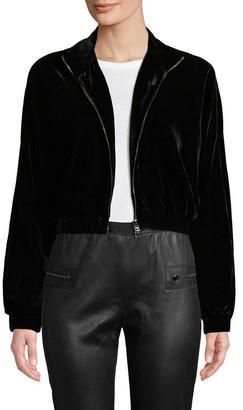 Tom Ford Velvet Crop Jacket