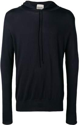 Laneus dark navy hoodie