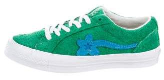Converse x GOLF le FLEUR Printed Low-Top Sneakers
