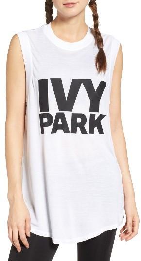 Women's Ivy Park Logo Tank