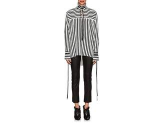 Derek Lam Women's Striped Silk Blouse