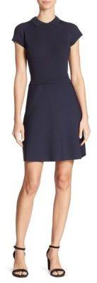 RED ValentinoRED Valentino Collared Knit Dress