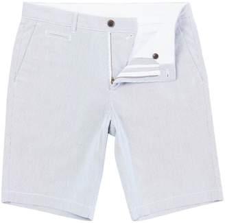 Linea Men's Hobson Fine Ticking Stripe Short