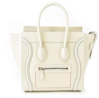 Celine Luggage Leather Tote.