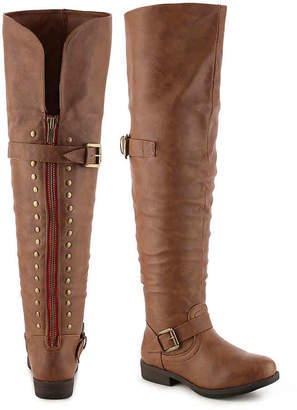 Journee Collection Kane Over The Knee Boot - Women's