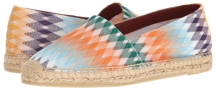 Missoni - Printed Espadrille Women's Shoes