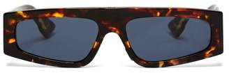 Christian Dior Power Tortoiseshell Acetate Sunglasses - Womens - Tortoiseshell