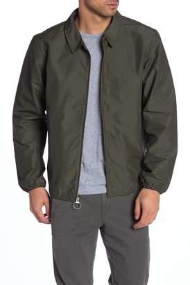 Herschel Mod Solid Water Resistant Zip Front Jacket