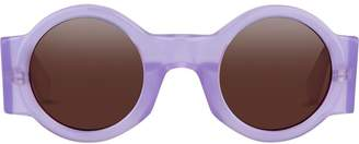 Linda Farrow round-frame sunglasses