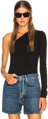 Acne Studios One Shoulder Bodysuit