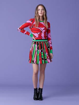 Diane von Furstenberg Paskavan Knit Pullover