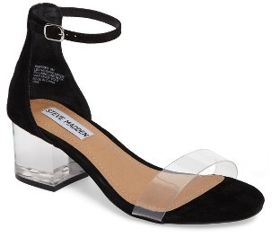 Women's Steve Madden Inspired Clear Heel Sandal $89.95 thestylecure.com