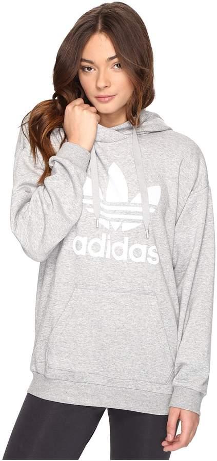 adidas Originals - Trefoil Hoodie Women's Long Sleeve Pullover