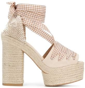 Castaner Abbeys platform sandals