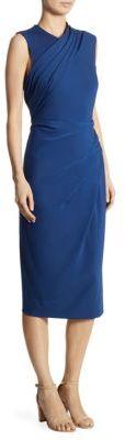 DKNY Draped Sleeveless Dress