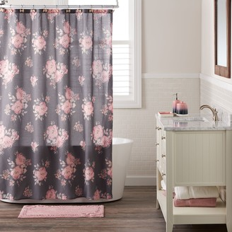 Lauren Conrad Bold Blossom Shower Curtain