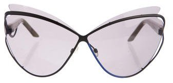 Christian Dior  Christian Dior Audacieuse 1 Cat-Eye Sunglasses
