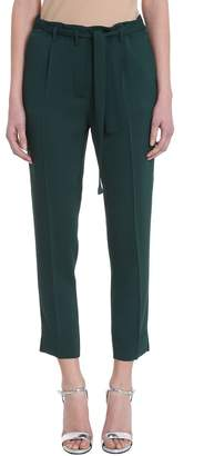 Mauro Grifoni Green Cotton Trousers