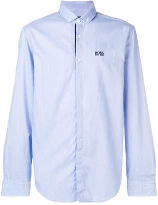 HUGO BOSS micro pattern shirt