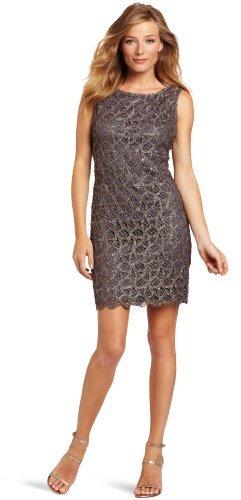 Suzi Chin Women's Lace Sheath Dress
