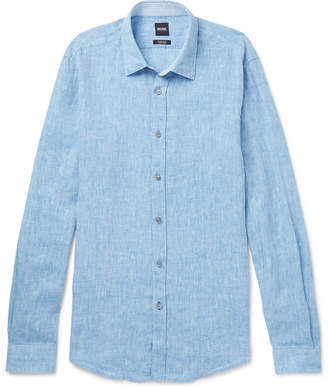 HUGO BOSS Lukas Linen Shirt