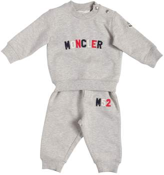 Moncler Cotton Sweatshirt & Sweatpants With Logo