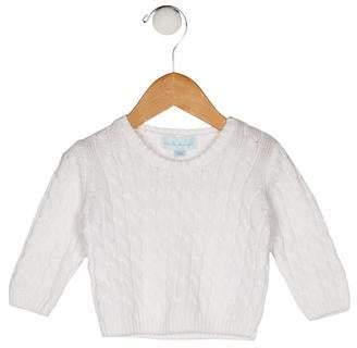 Marie Chantal Girls' Knit Long Sleeve Sweater