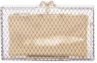 Charlotte Olympia Women's Pandora Fishnet Box Clutch