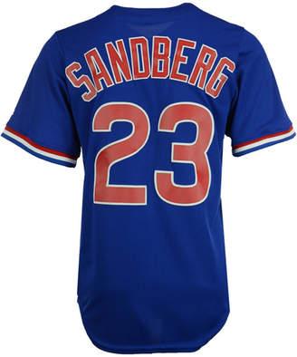 Majestic Men Ryne Sandberg Chicago Cubs Cooperstown Player Replica Cb Jersey