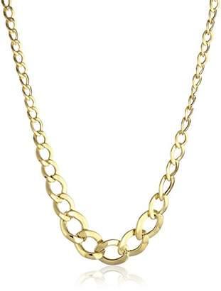 14k Gold Graduated High Polished Necklace
