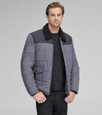 Andrew Marc HOWELL SHERPA COLLAR JACKET