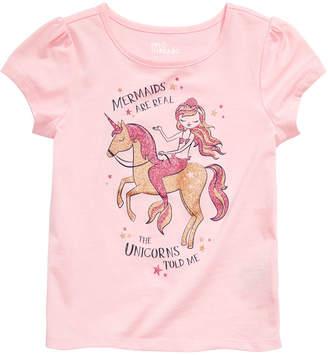 Epic Threads Toddler Girls Unicorn Mermaid-Print T-Shirt