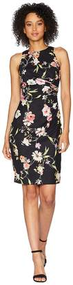 Adrianna Papell Eternal Blooms Print Sheath Dress Women's Dress