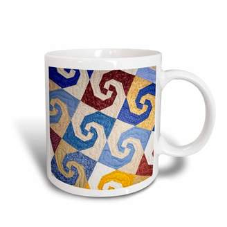 Walter 3drose 3dRose West Virginia, Beckley. Tamarac, quilt textile - US49 WBI0014 Bibikow, Ceramic Mug, 11-ounce