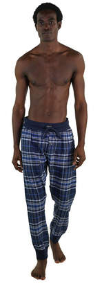 Members Only Flannel Jogger Lounge Pant with Draw String