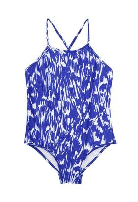 Milly Minis Cabana Brushstroke Crossback One Piece