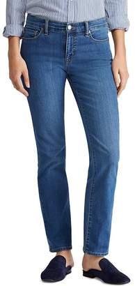 Ralph Lauren Modern Straight Curvy Jeans in Ocean Blue