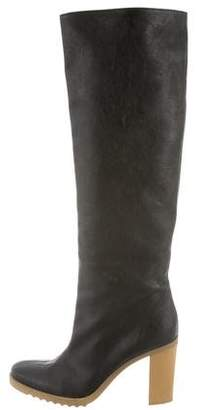 Stella McCartney Vegan Leather Knee-High Boots