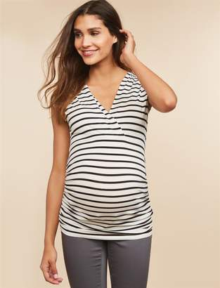 Motherhood Maternity Ruched Maternity Top