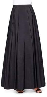 Alex Evenings Taffeta Maxi Skirt