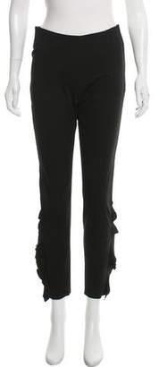 IRO Ruffle-Accented Skinny Pants w/ Tags